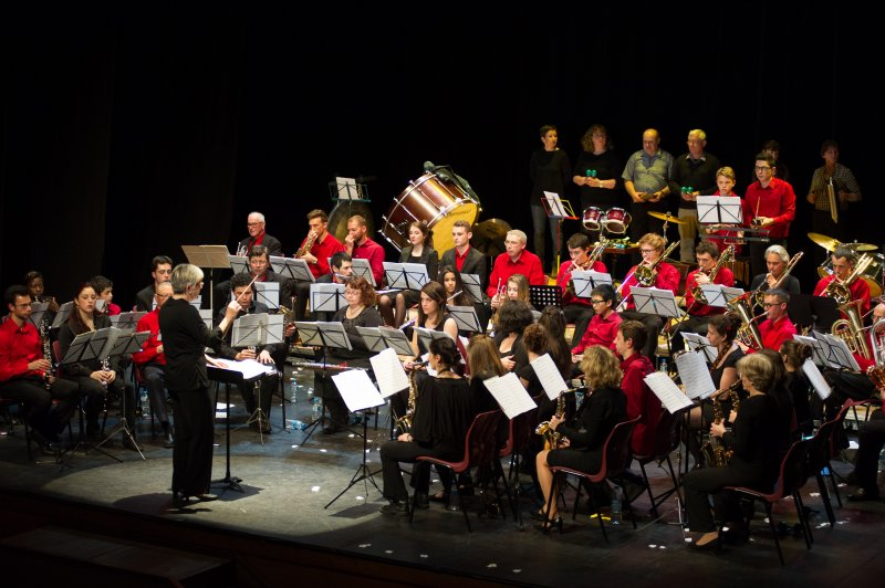 L'Orchestre d'harmonie © Pierre Planchenault